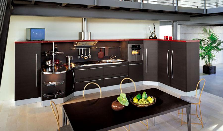 Modello di cucina ad angolo Snaidero n.03