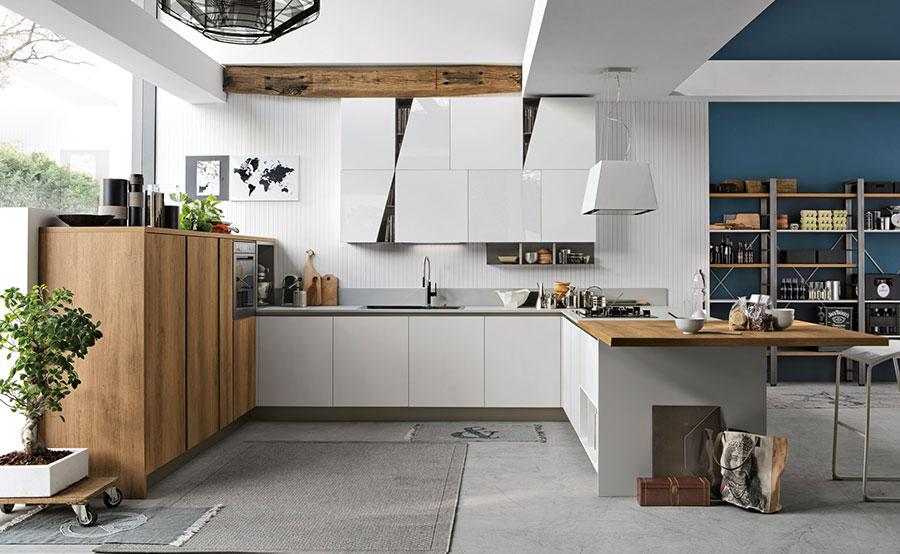 Modello di cucina ad angolo Stosa n.01