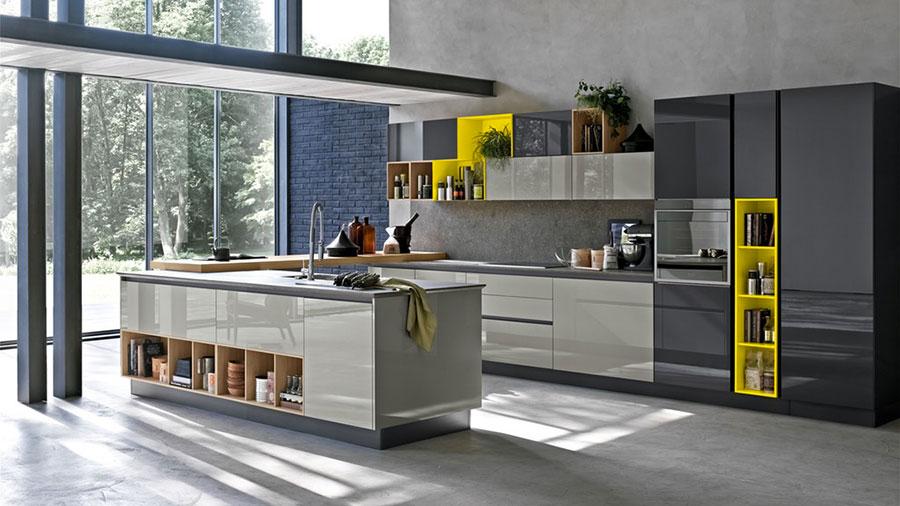 Modello di cucina ad angolo Stosa n.02