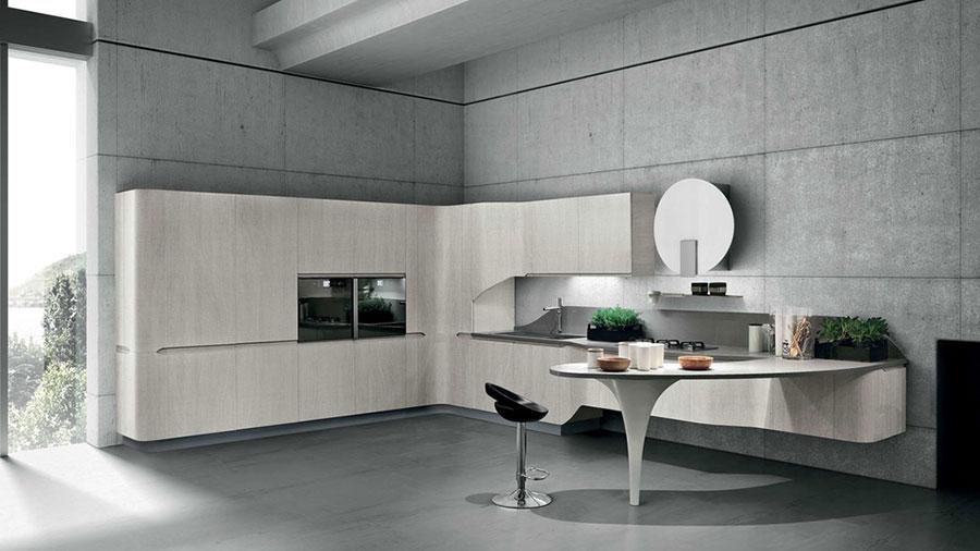 Modello di cucina ad angolo Stosa n.03
