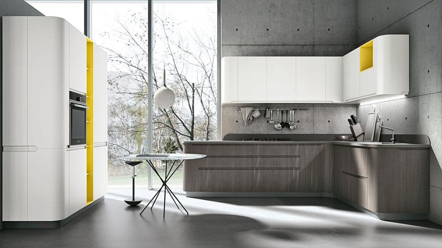 Modello di cucina ad angolo Stosa n.04