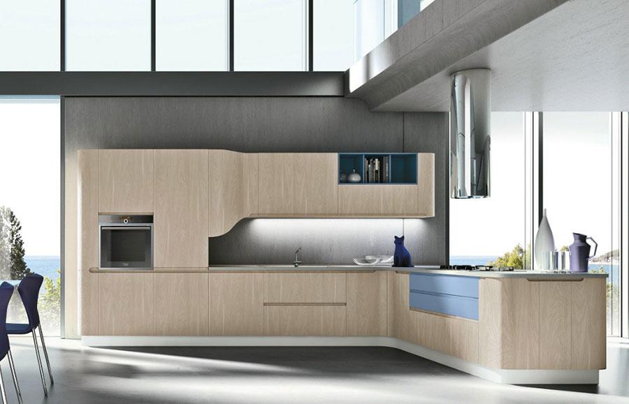 Modello di cucina ad angolo Stosa n.05