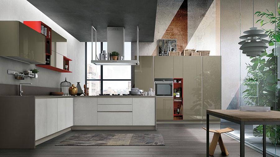 Modello di cucina ad angolo Stosa n.10
