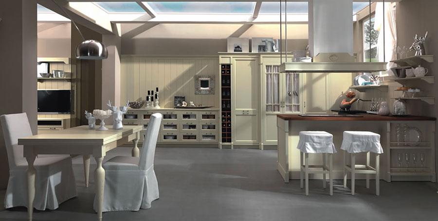20 foto di cucine country chic per uno stile romantico e for Arredamento country moderno
