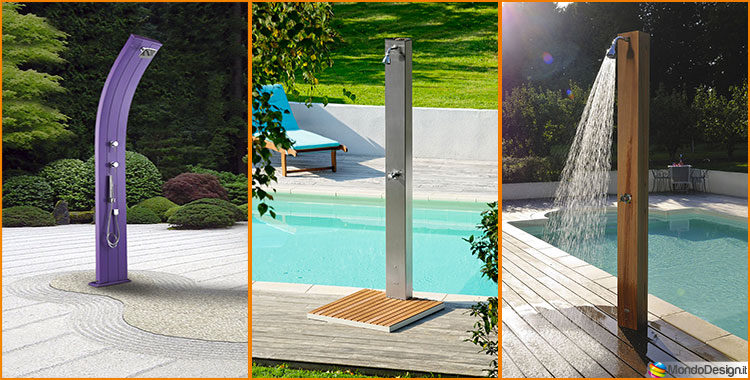Doccia Solare Da Giardino 20 Modelli Eleganti E Funzionali
