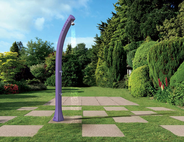 Modello di doccia solare da giardino n.01
