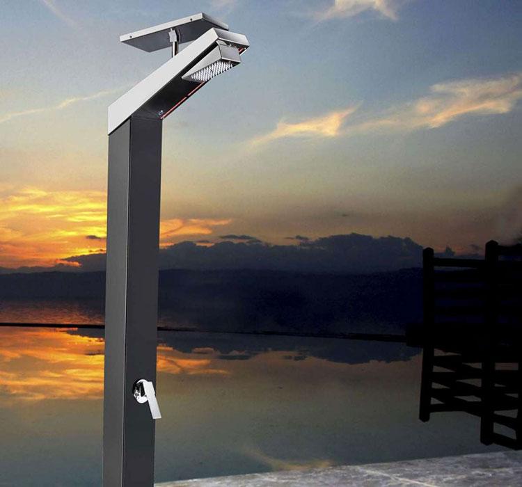 Modello di doccia solare da giardino n.06