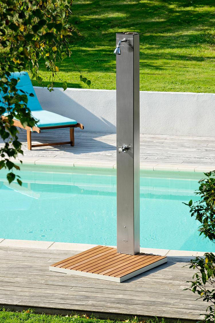 Modello di doccia solare da giardino n.10