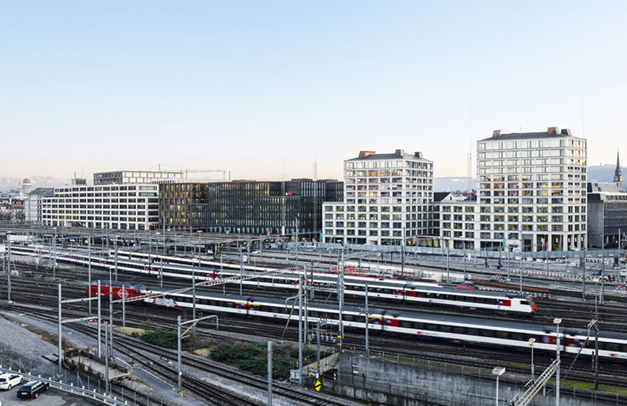 Europaallee Baufeld - Zurigo (Svizzera)