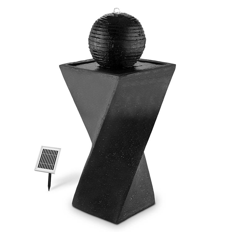 Modello di fontana solare da giardino n.01