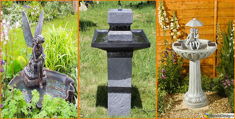 15 stupende fontane solari da giardino da acquistare - Fontane da giardino prezzi ...