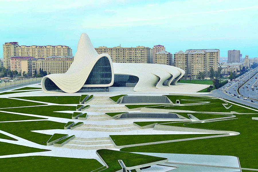 Heydar Aliyev Centre - Baku (Azerbaijan)