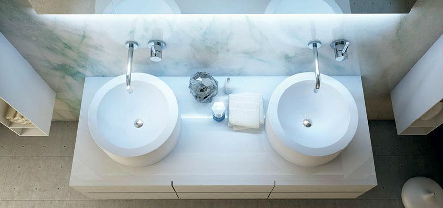 Modello di mobile da bagno Moma Design n.04