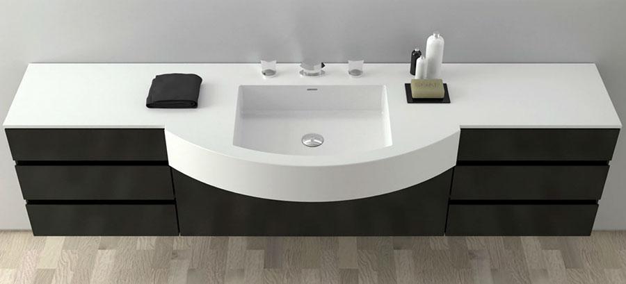 Modello di mobile da bagno Moma Design n.05