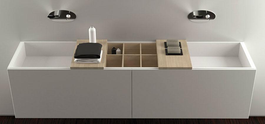 23 favolosi mobili da bagno moderni di moma design - Mobili colorati design ...