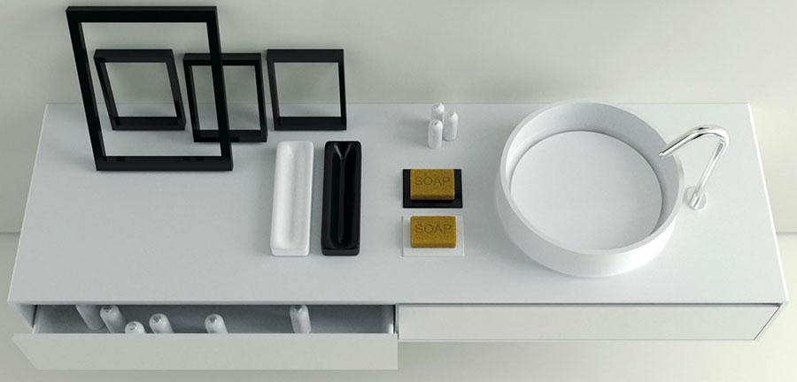 Modello di mobile da bagno Moma Design n.09