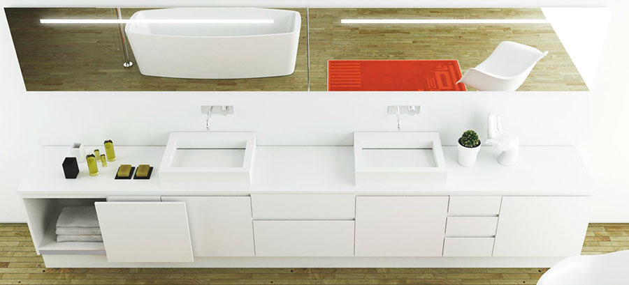 Modello di mobile da bagno Moma Design n.10
