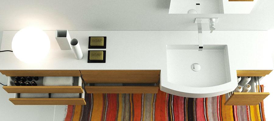 Modello di mobile da bagno Moma Design n.12