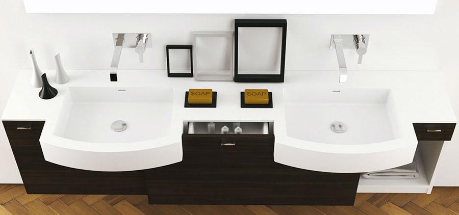Modello di mobile da bagno Moma Design n.15