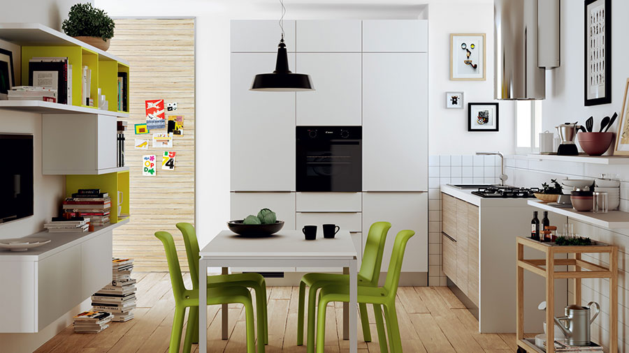 kitchen design for small area idee per arredare cucine piccole con scavolini 7926