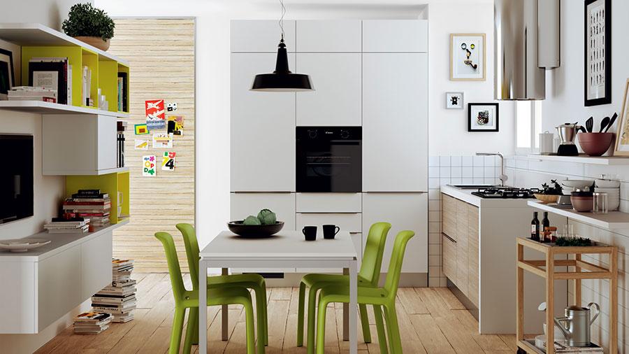 Modello di cucina per monolocale di Scavolini n.4