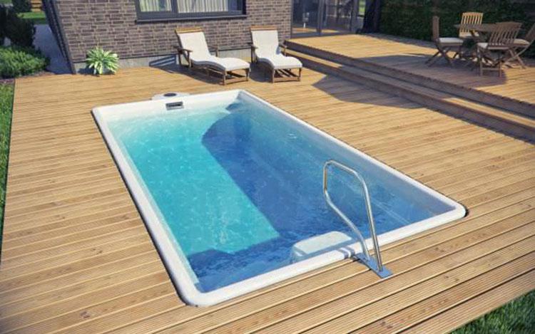 15 modelli di piscine interrate in vetroresina monoblocco - Piscine fuori terra vetroresina ...