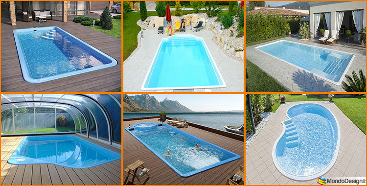 15 modelli di piscine interrate in vetroresina monoblocco - Piscine piccole interrate ...