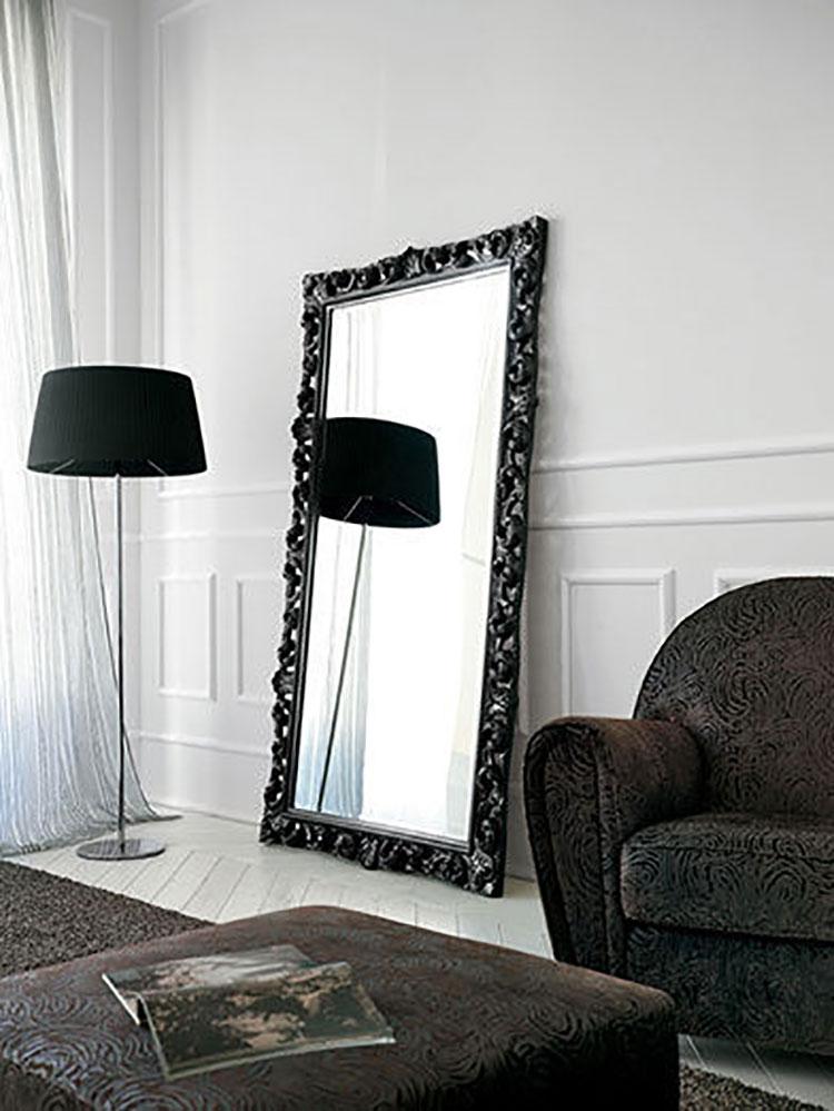 Specchio da terra in stile classico n.02