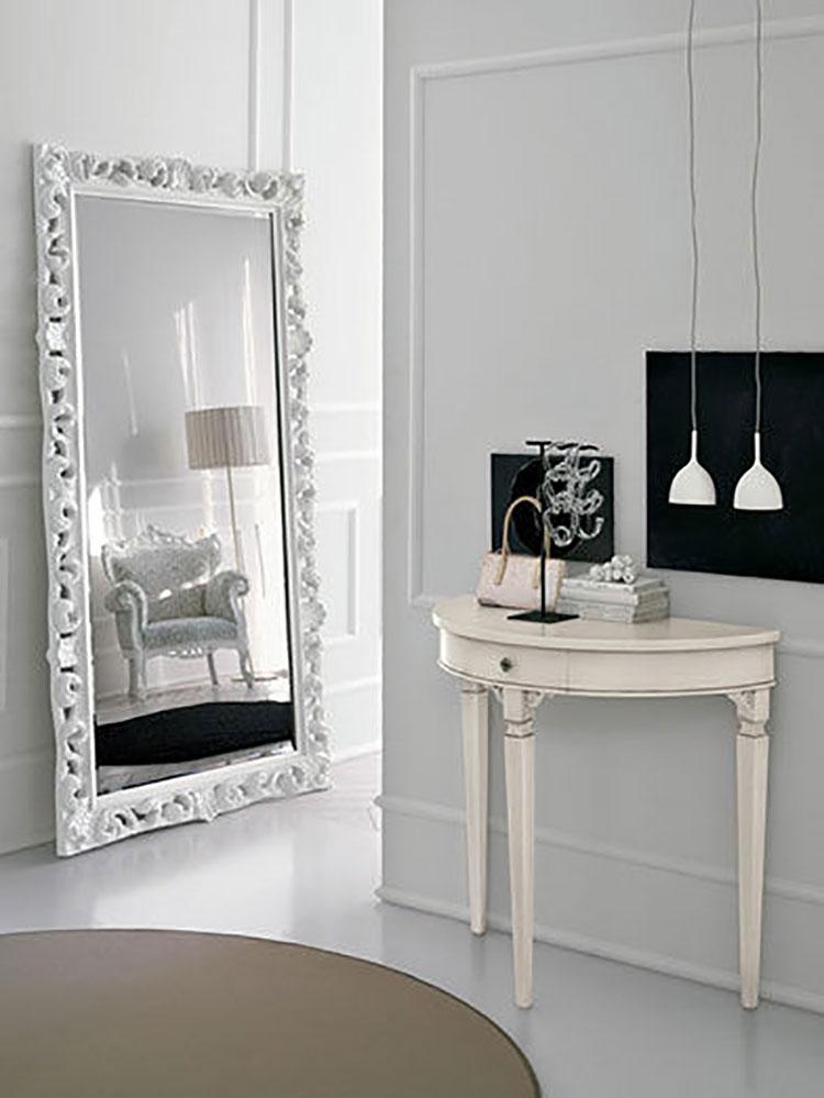15 modelli di specchi da terra in stile classico - Specchi camera da letto ikea ...