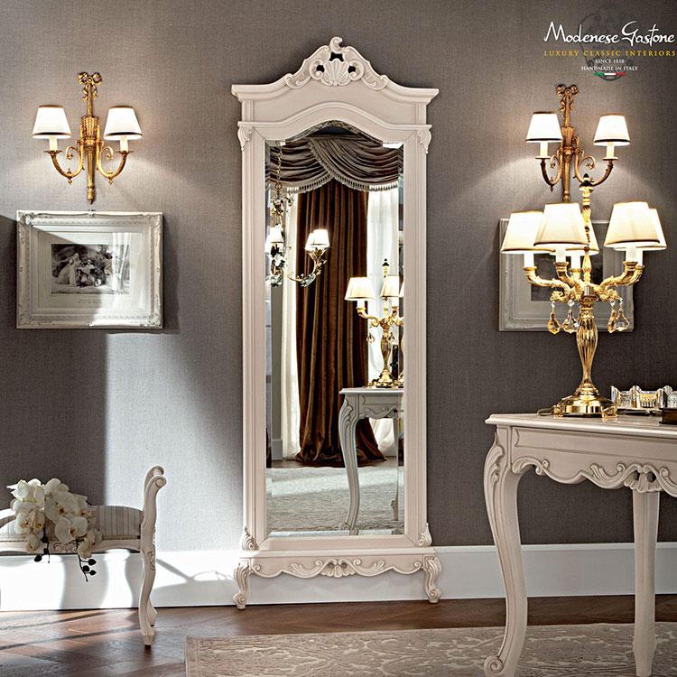 Specchio da terra in stile classico n.06