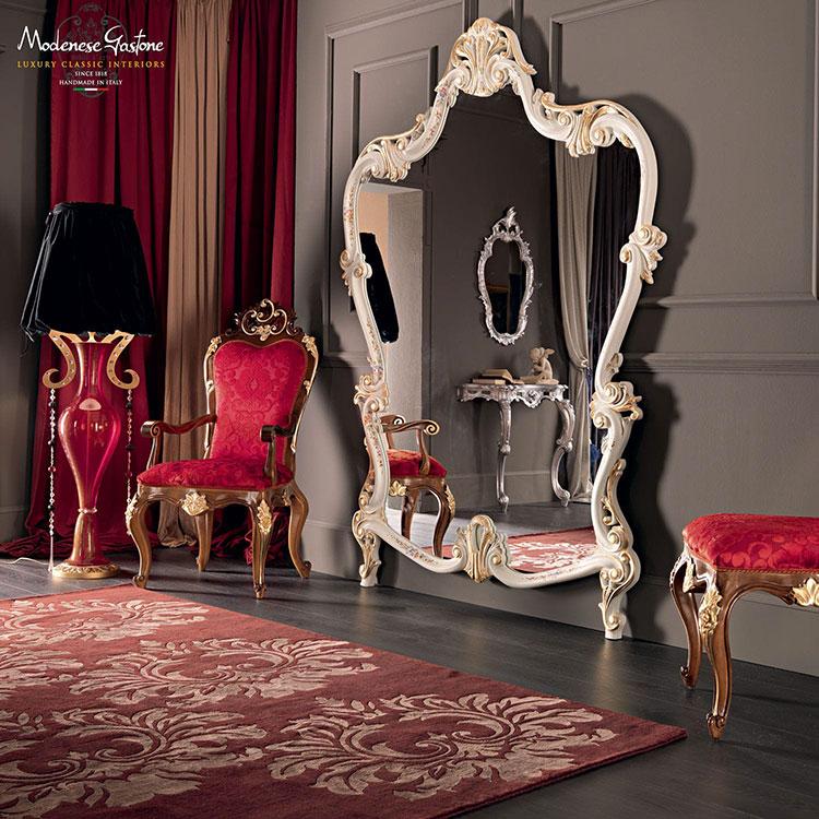 Specchio da terra in stile classico n.07