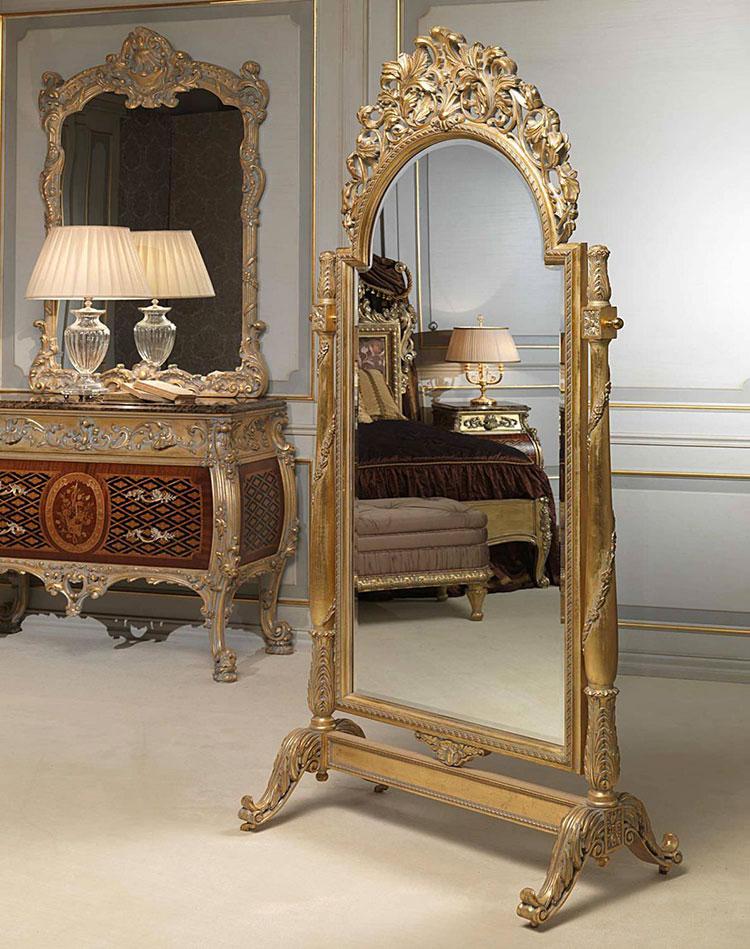 Specchio da terra in stile classico n.08