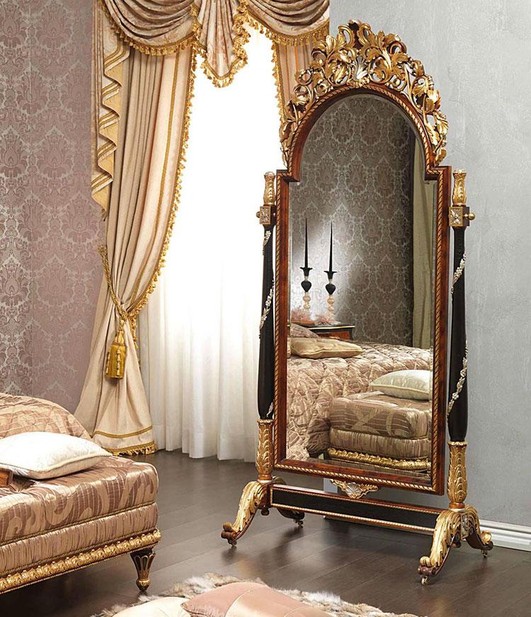 Specchio da terra in stile classico n.09