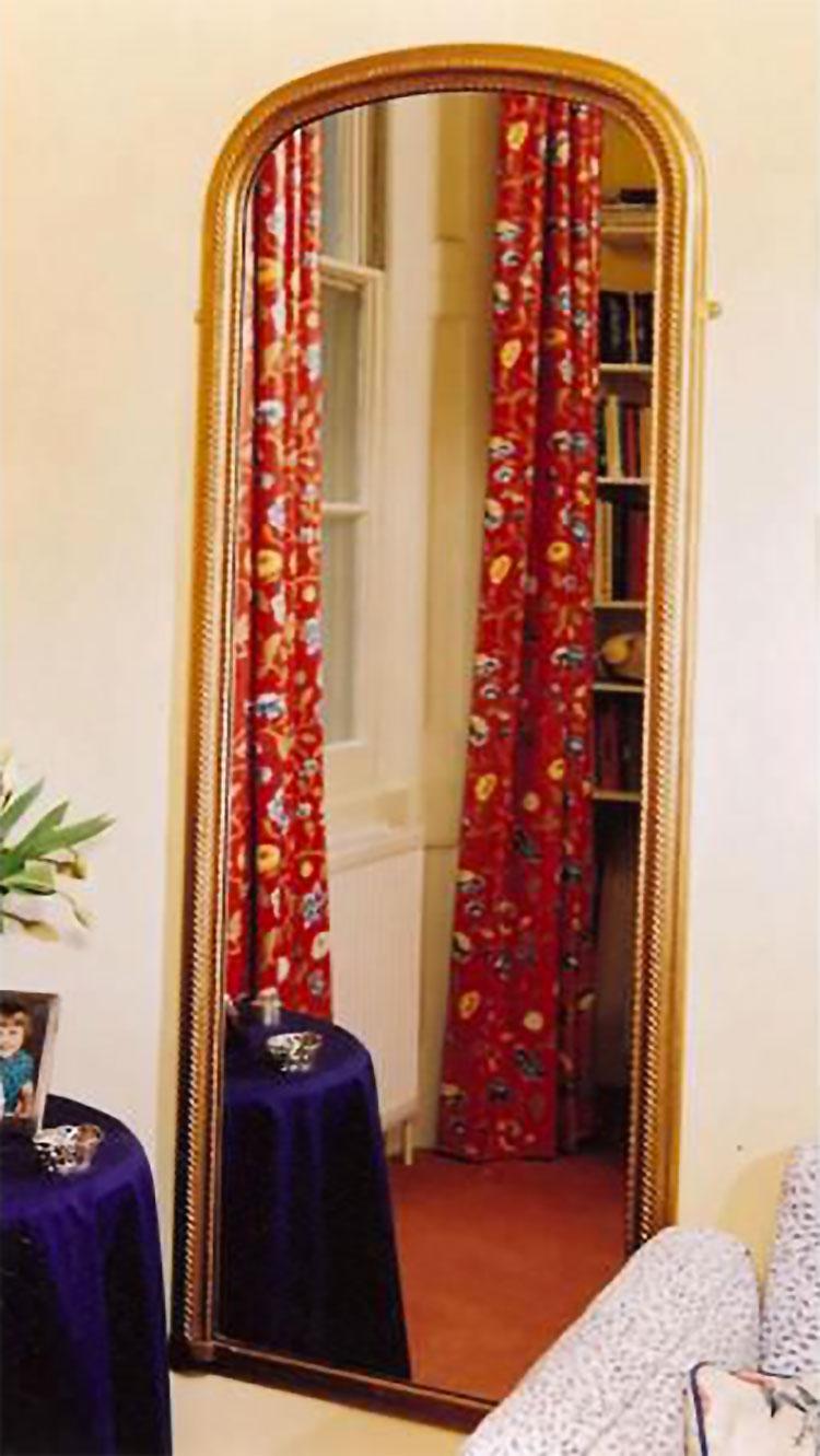 Specchio da terra in stile classico n.11