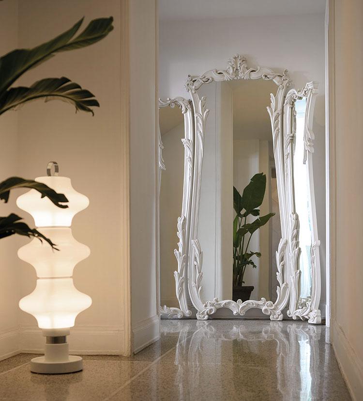 Specchio da terra in stile classico n.16