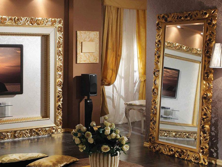 Specchio da terra in stile classico n.18