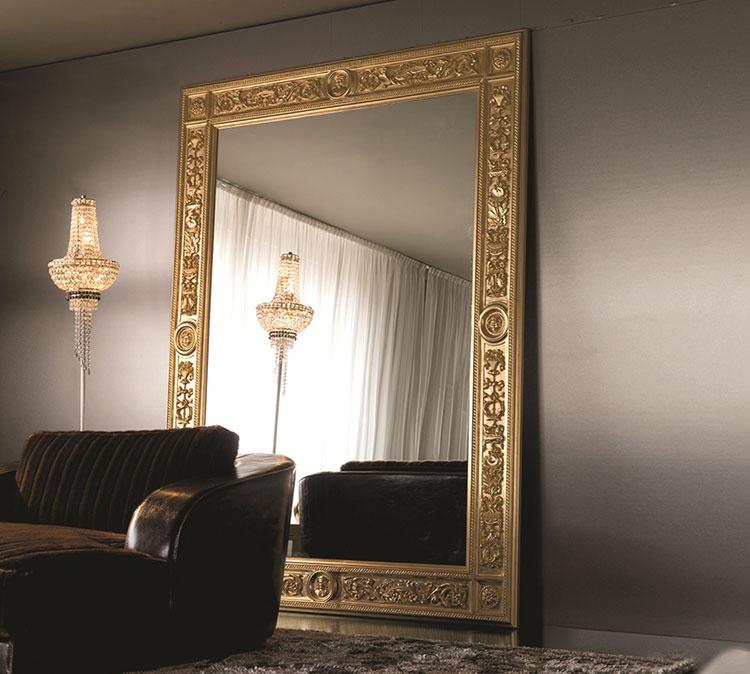 Specchio da terra in stile classico n.19