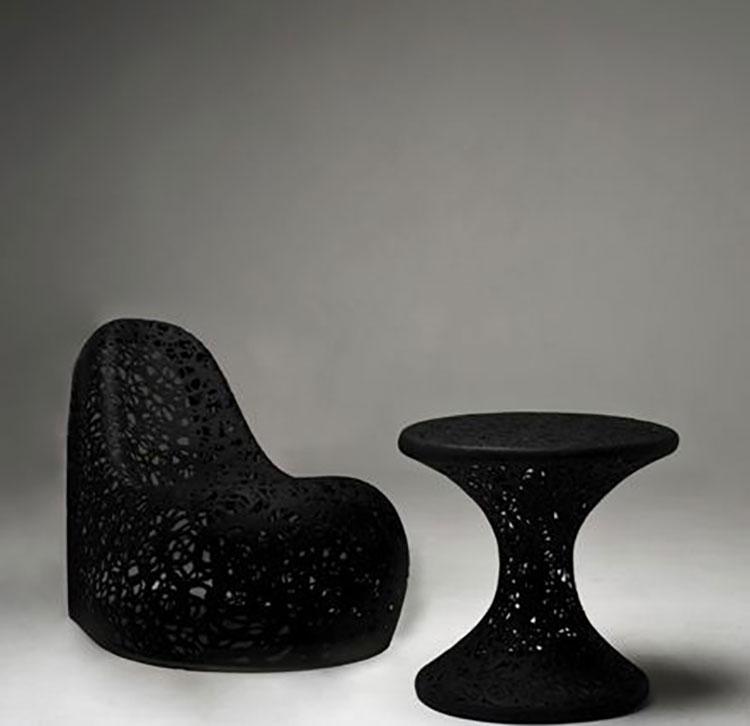 Tavolo da esterni dal design particolare n.20