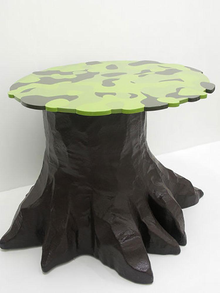 Tavolo da esterni dal design particolare n.22