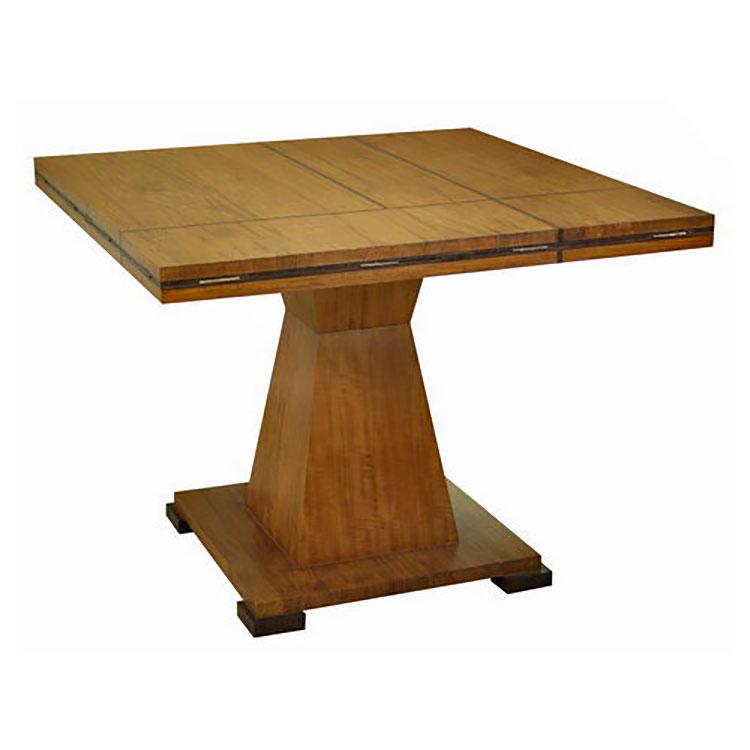 Modello di tavolo quadrato allungabile n.03