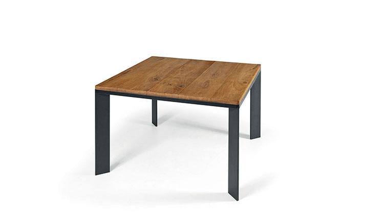 Modello di tavolo quadrato allungabile n.04