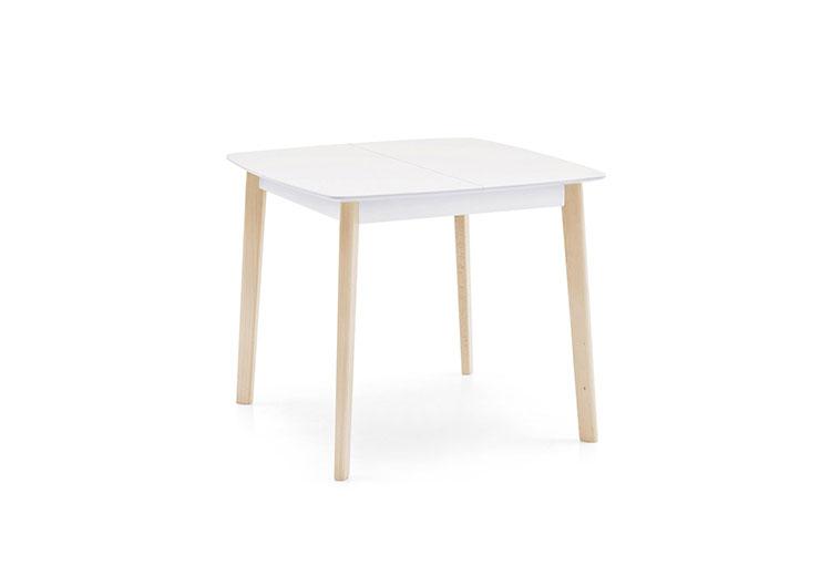 Modello di tavolo quadrato allungabile n.07