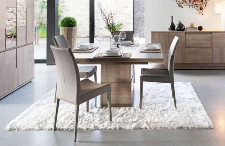 Tavoli quadrati allungabili 20 modelli dal design moderno for Tavolo da salotto allungabile