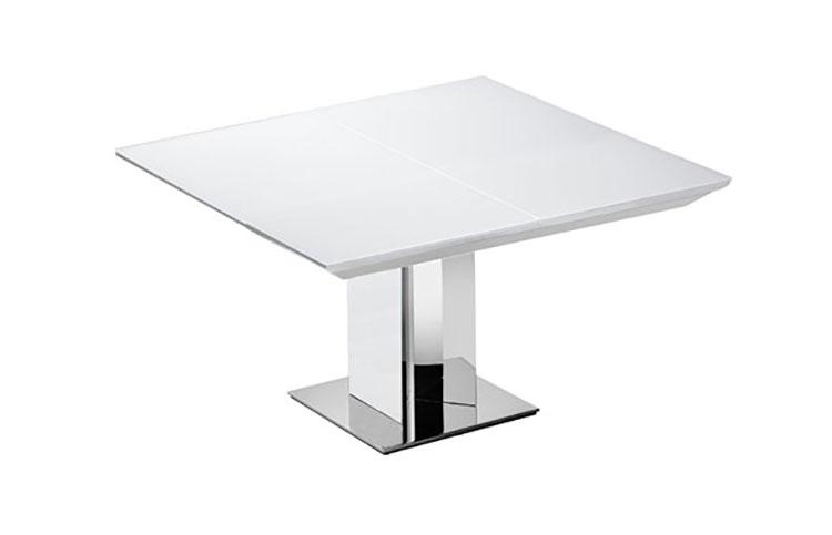 Modello di tavolo quadrato allungabile n.10