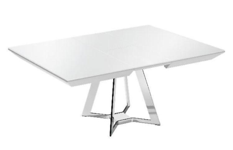 Modello di tavolo quadrato allungabile n.11