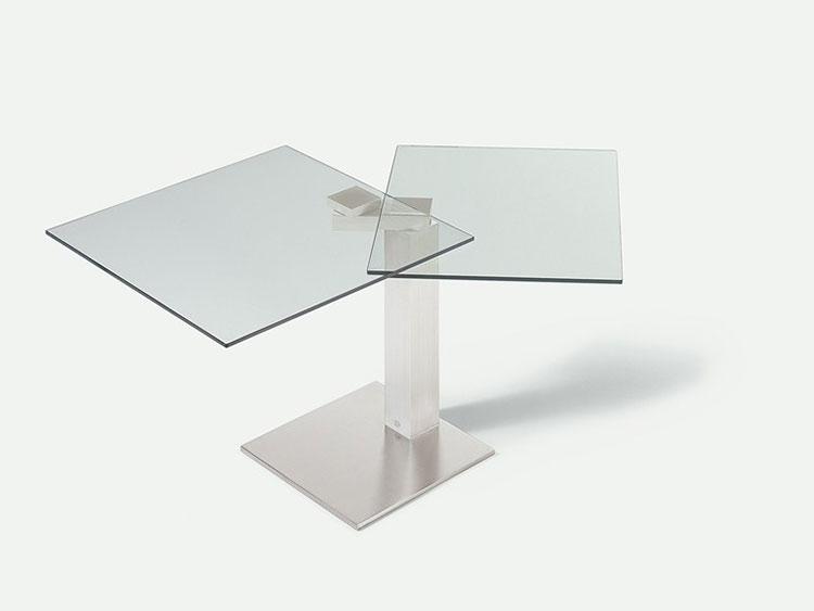 Modello di tavolo quadrato allungabile n.13