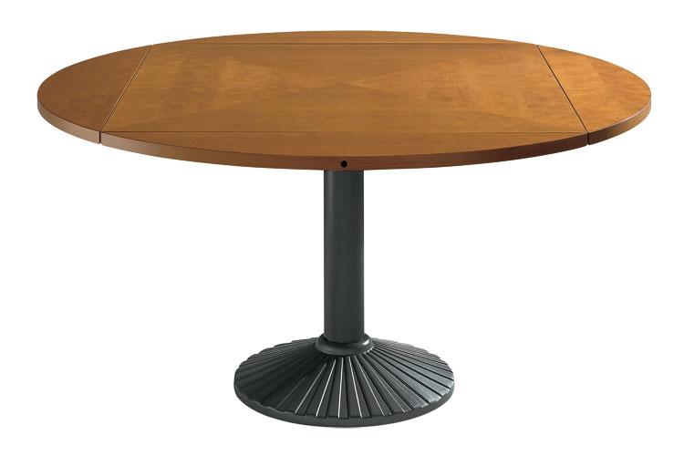 Modello di tavolo quadrato allungabile n.16