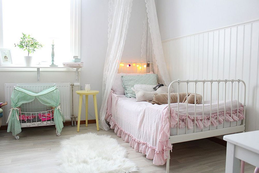 Cameretta per Bambini in Stile Shabby Chic n.18