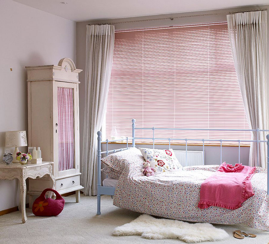 Cameretta per Bambini in Stile Shabby Chic n.19