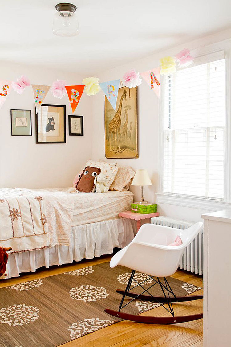 Cameretta per Bambini in Stile Shabby Chic n.20
